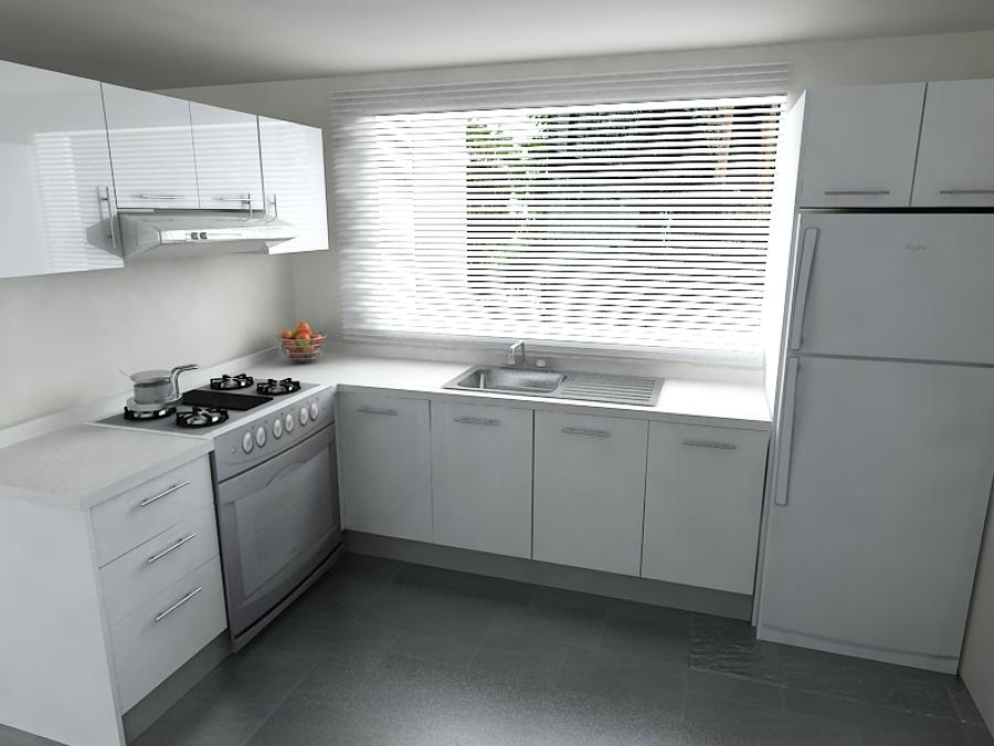 Dise o de cocinas integrales propias a tu espacio ideas for Cocinas modernas blancas precios