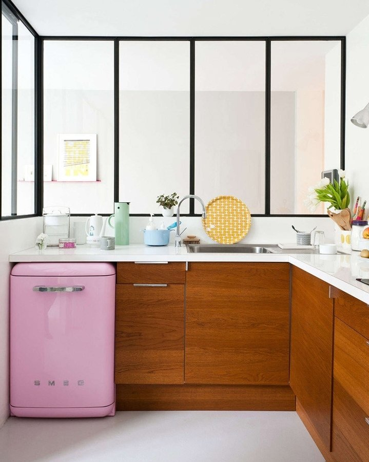 cocina con cubierta silestone