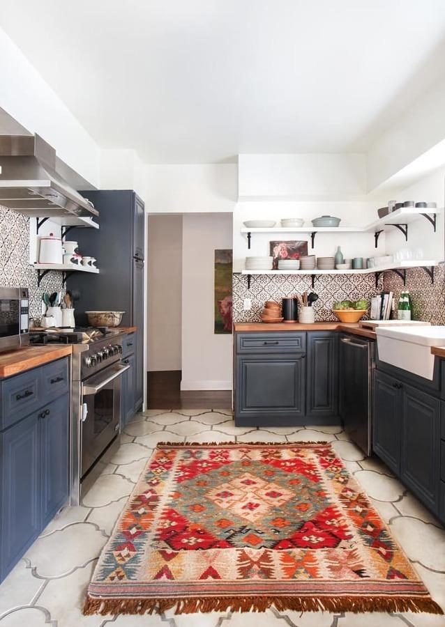 Foto: Cocina con Azulejos en la Pared #215423 - Habitissimo