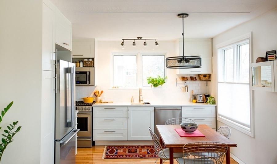 Foto: Cocina con Muebles Blancos #171011 - Habitissimo