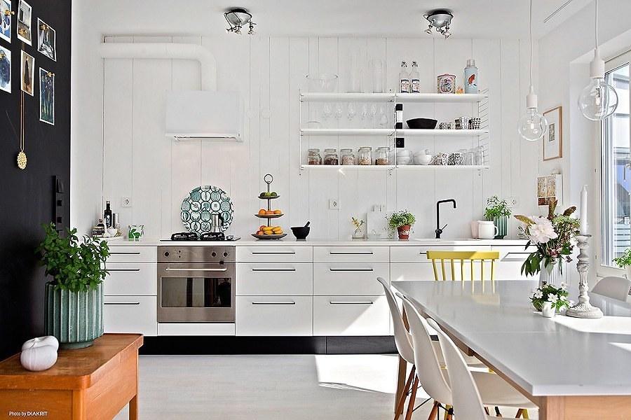 cocina estilo nórdico