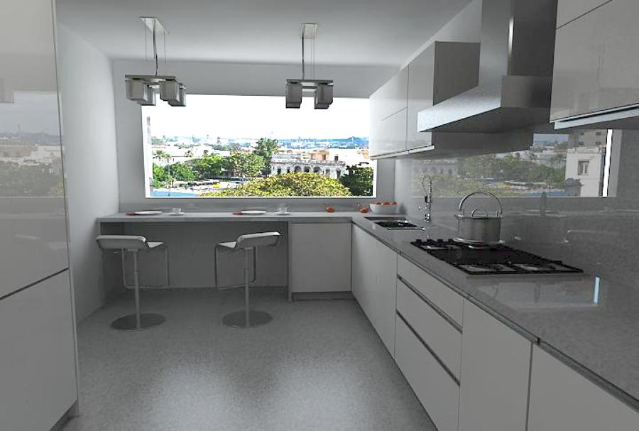 Foto: Cocina Integral Alto Brillo de Unik Muebles #113673 - Habitissimo