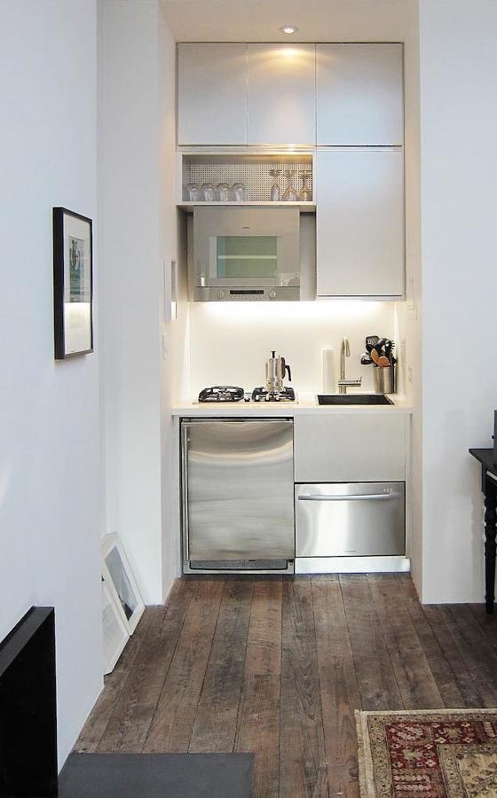 Cocina con electrodomésticos pequeños