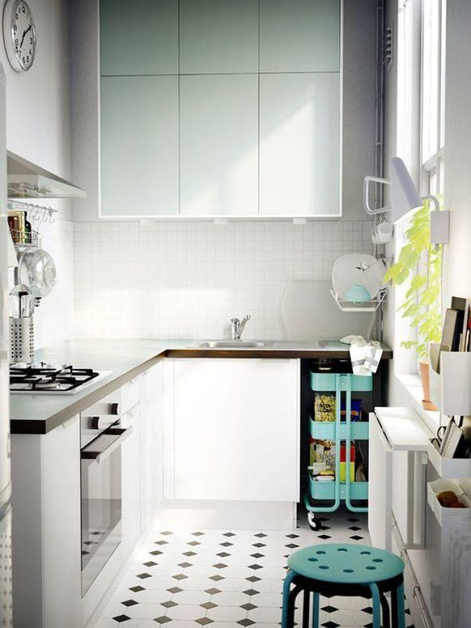 8 cocinas muy bien aprovechadas ideas remodelaci n cocina for Proyecto cocina pequena