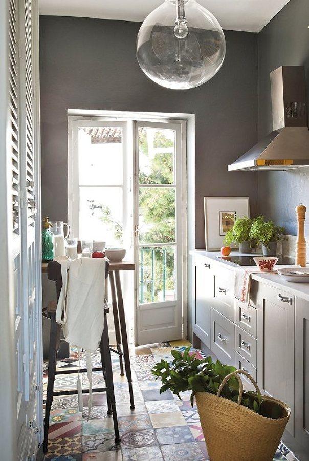 Foto cocina peque a estilo provenzal 246620 habitissimo - Decoracion francesa provenzal ...