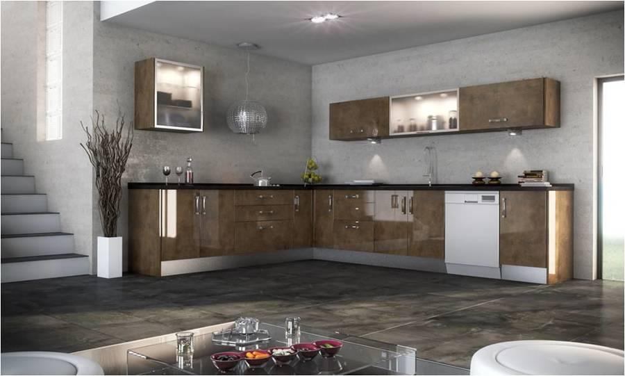Foto cocinas alto brillo de blue aim 157049 habitissimo for Quiero ver cocinas integrales