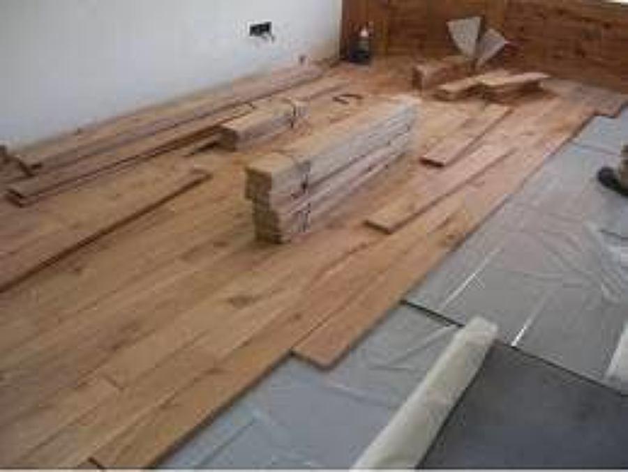 Colocaci n de piso ideas canceler a aluminio - Arreglar tarima flotante ...