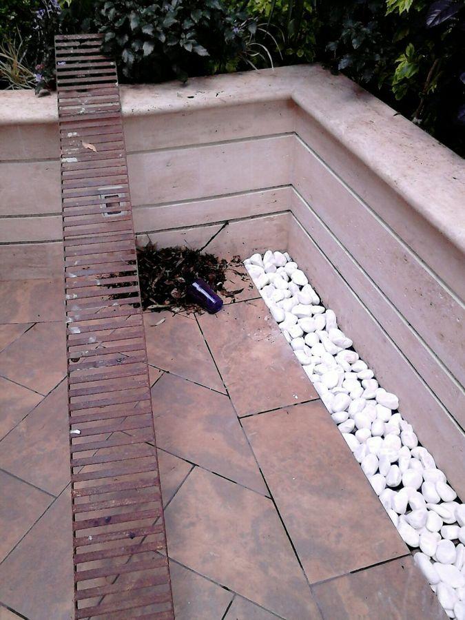 Foto colocacion de loseta y marmol de el martillo 170889 - Loseta para jardin ...