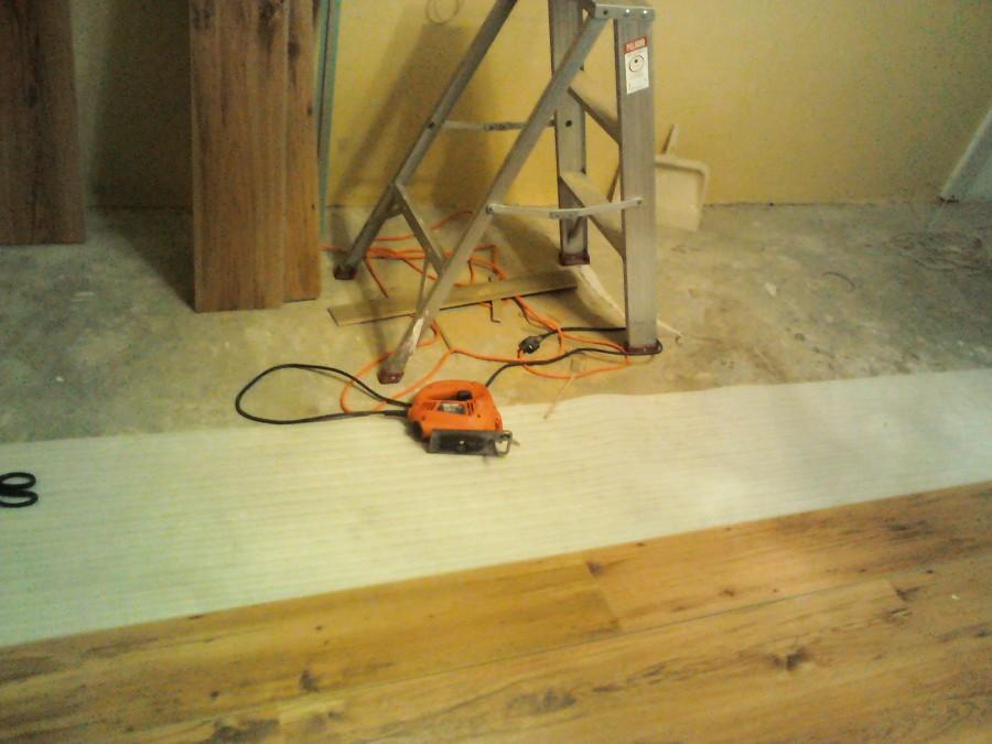 colocacion de piso laminado