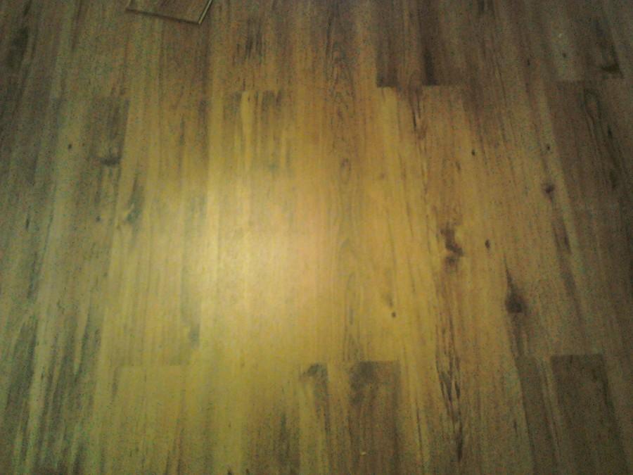 colocación de piso laminado