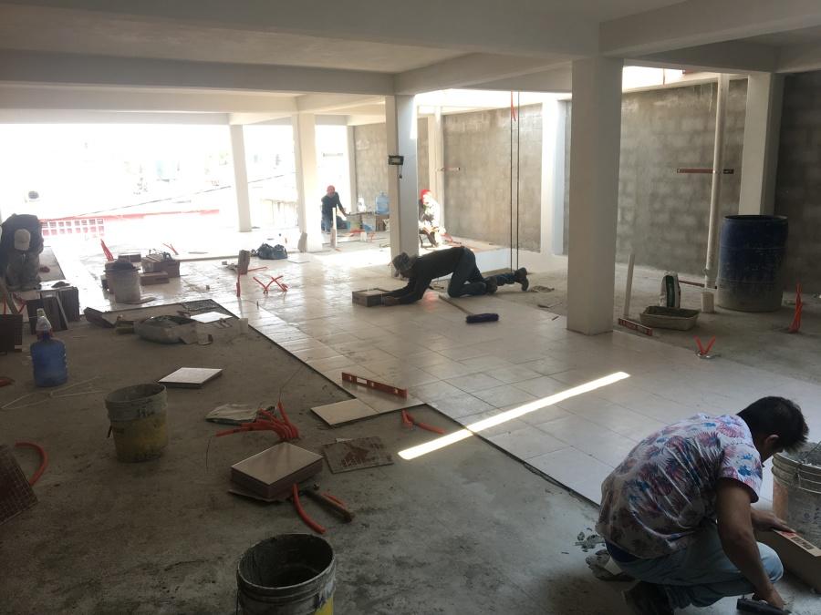 Colocación piso cerámico