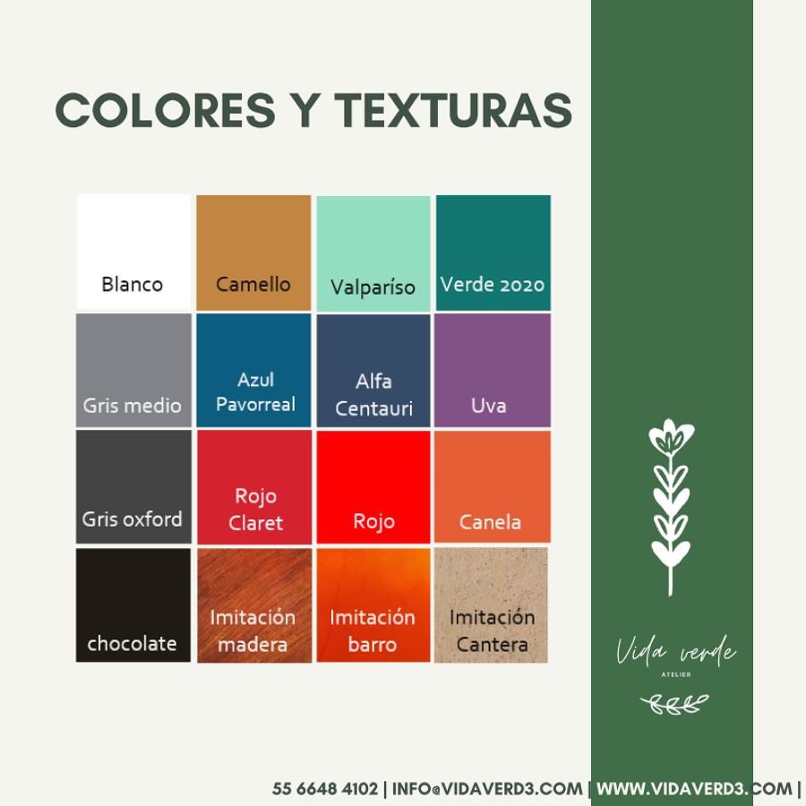 Colores y texturas