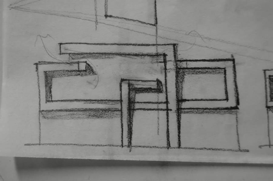 Concepto en fachada