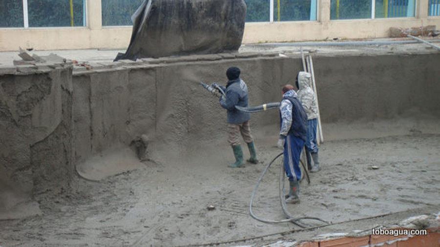 Foto concreto lanzado de aqua albercas y equipos 84618 for Construccion de piscinas en concreto