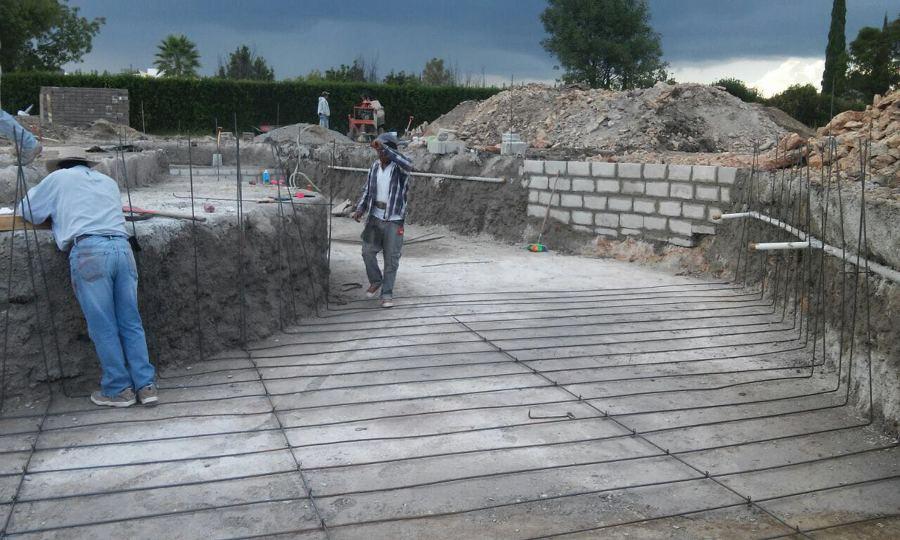 Foto construcci n alberca en tequisquiapan de aqualim for Construccion de albercas en mexico