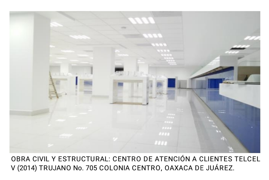 Construcción Centro de Atención a Clientes Telcel