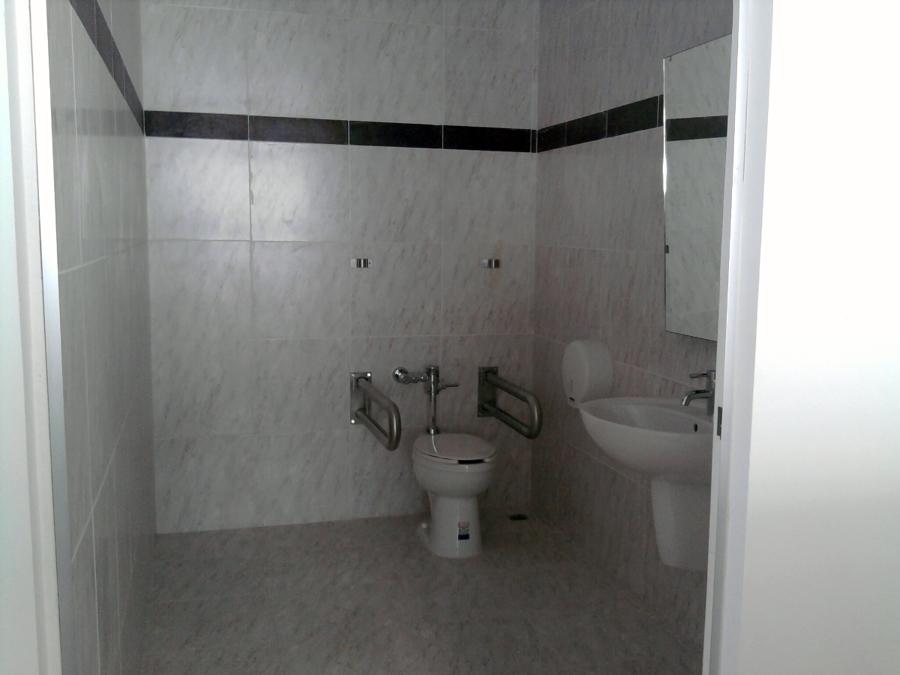 Construcción de baño.