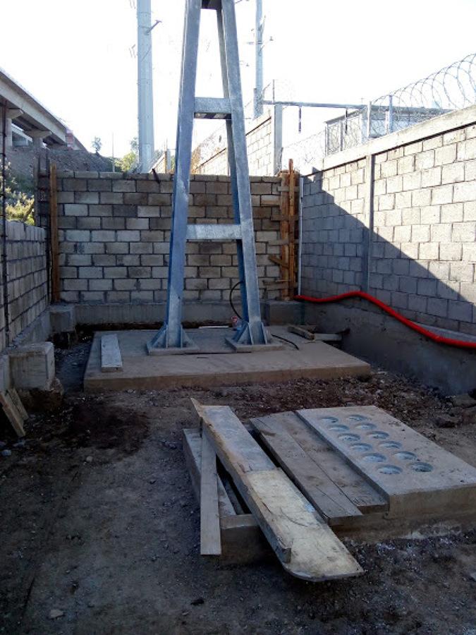 Construcción de barda perimetral