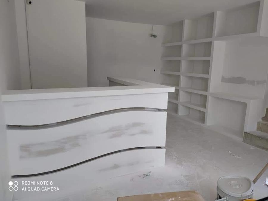 CONSTRUCCION DE BARRA EN TABLAROCA