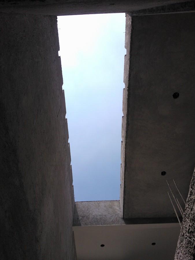 Foto construcci n de domo de escalera de architecture for Construccion de escaleras