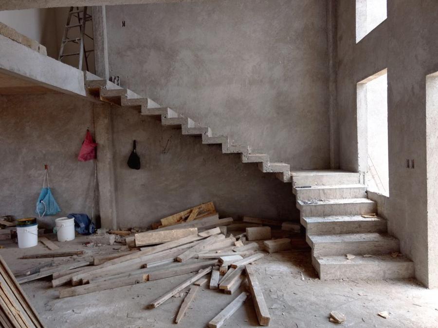 Construcción de escaleras