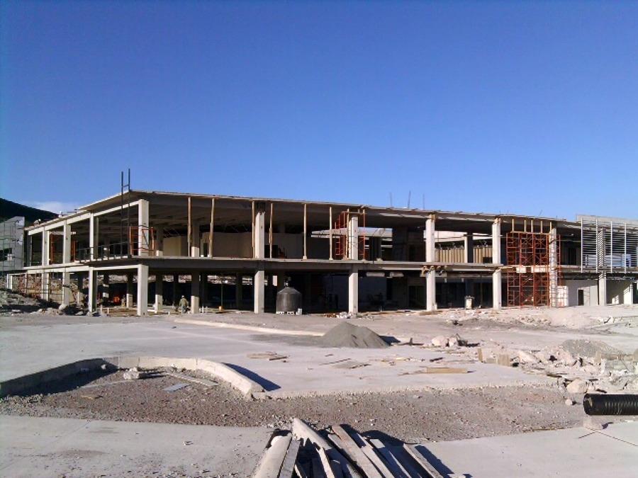 Construción de edificio.