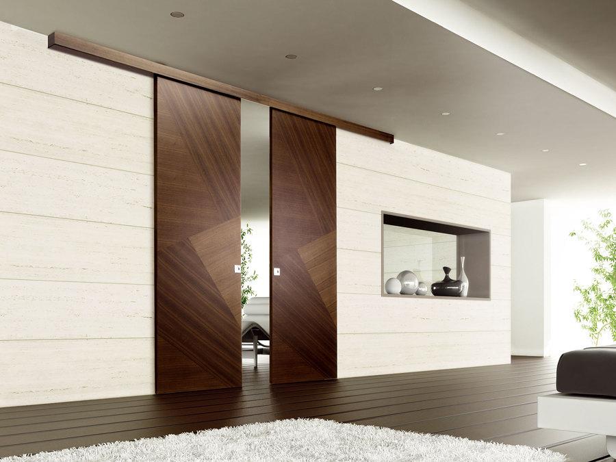 Puertas correderas que ahorran y unen espacios ideas for Puerta corrediza de madera