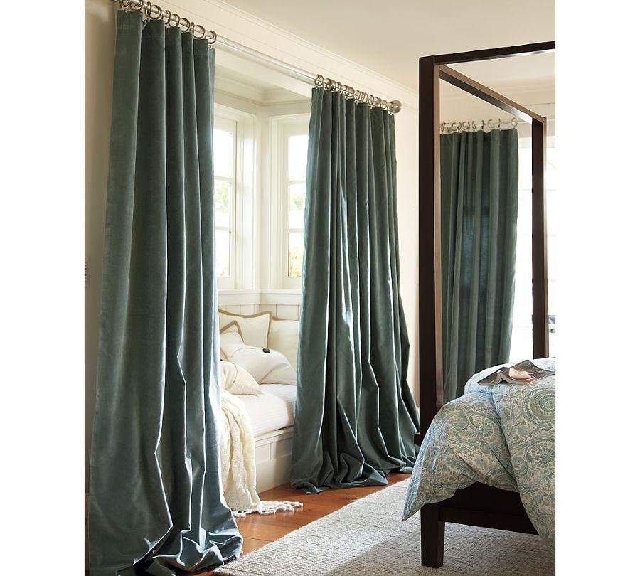 Cortinas de ba o largas for Argollas de cortinas de bano