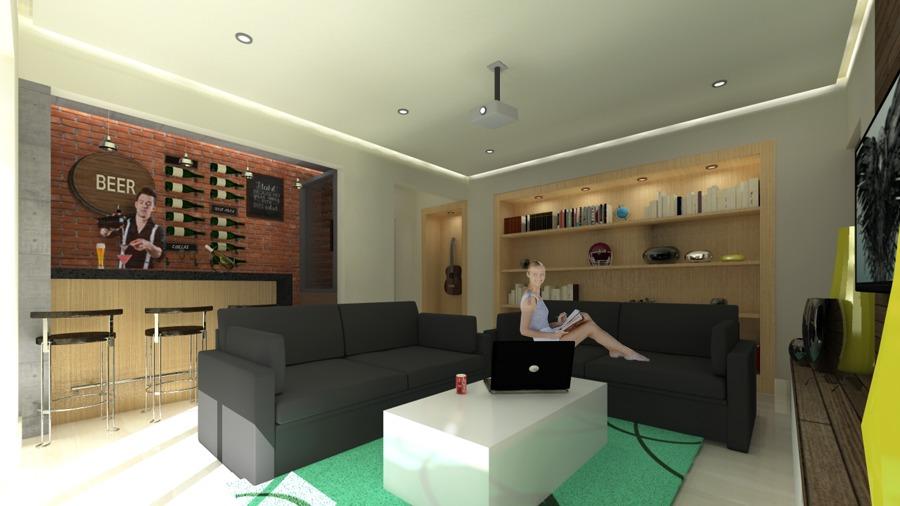 Ampliaci n cochera terraza cuarto de juegos ideas - Juego de diseno de interiores ...