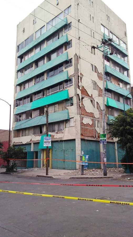 Daños del edificio