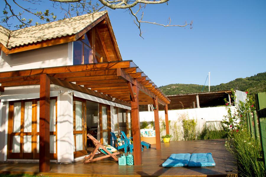 terraza de madera