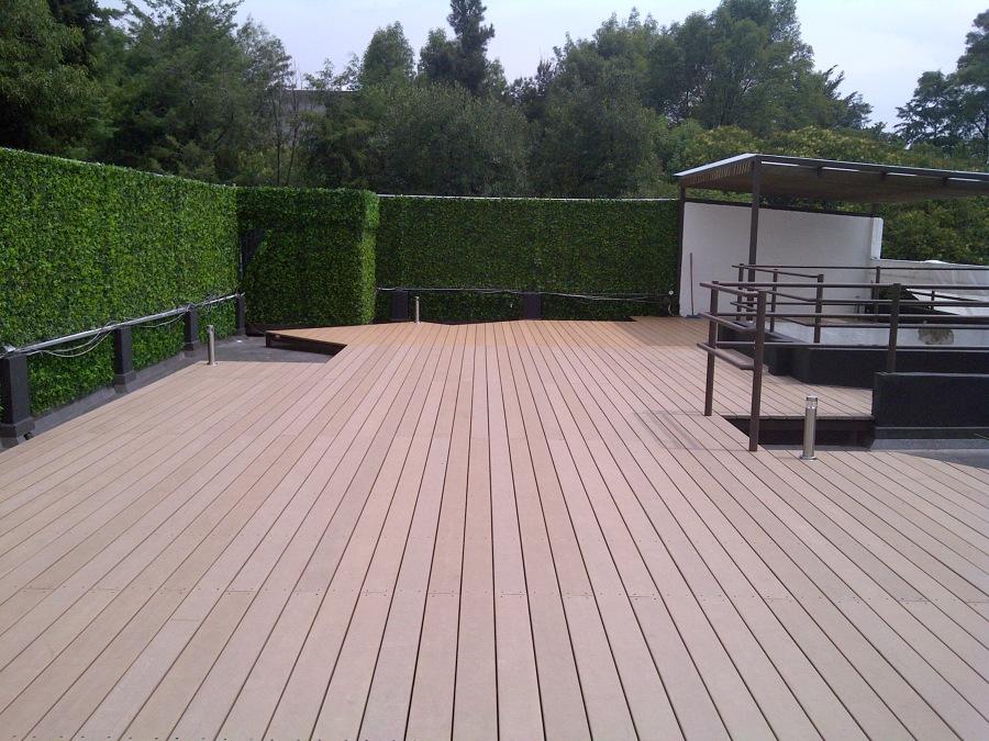 Deck terraza residencia san francisco ideas pisos madera - Hacer terraza en piso ...