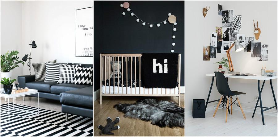 Foto decoracion blanco y negro 145019 habitissimo - Decoracion blanco y negro ...