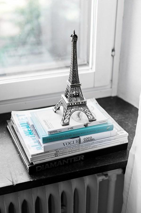 Figura decoración Torre Eiffel