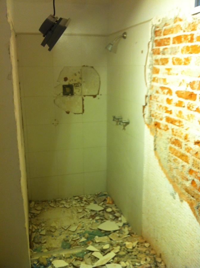 Demolicion de baño anterior