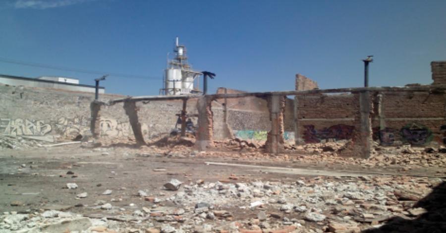 Demolición de estructuras