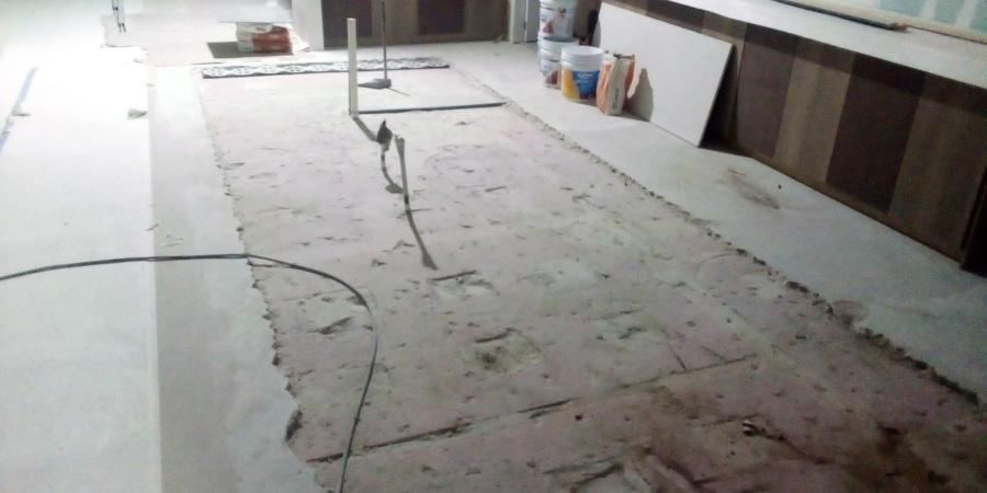 Demolición de nivelante