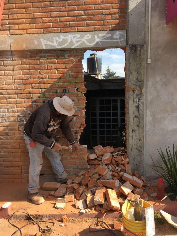 Demolición de Tabique