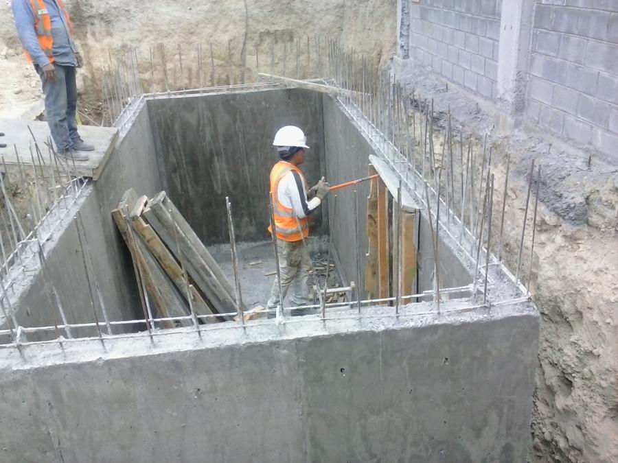 Construcci n de cisterna ideas ingenieros for Cisternas de cemento