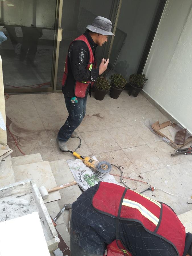 Desmantelamiento de piso existente