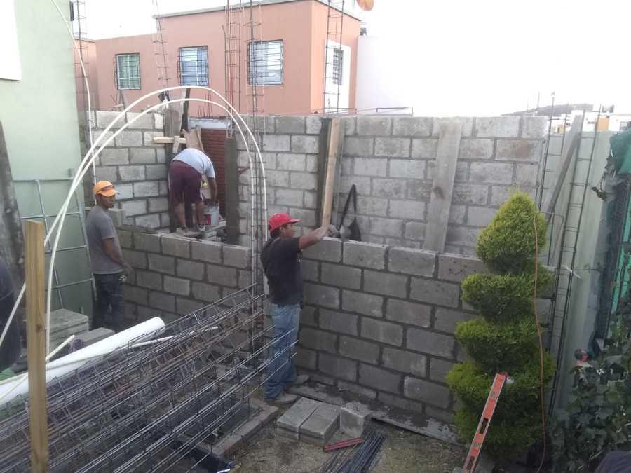 desplante de muros