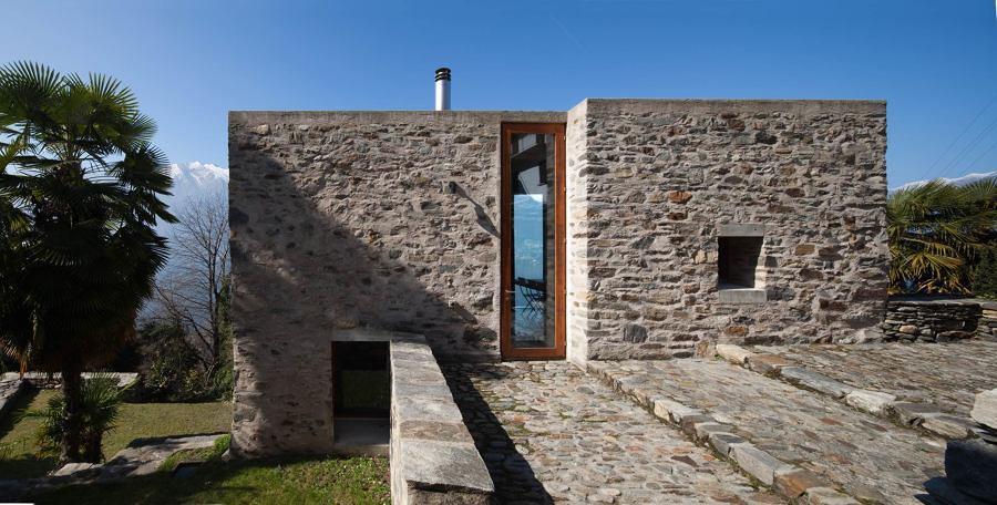 Foto exteriores de piedra 160224 habitissimo for Piedra para muros exteriores precio