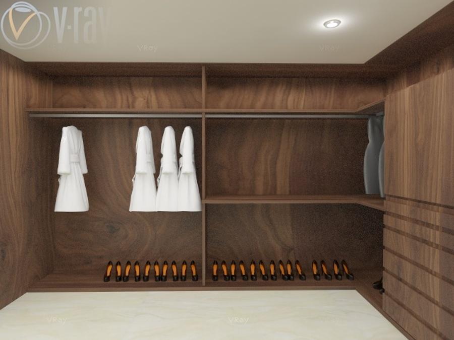 Dise o de closet ideas dise o de interiores for Diseno zapateras para closet