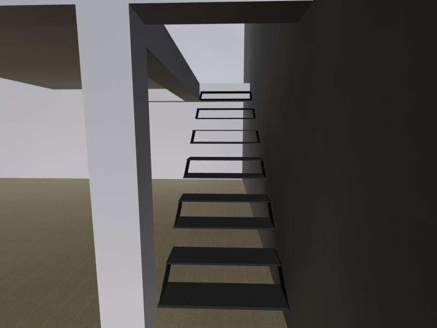 Dise o y construccion de escalera ideas arquitectos - Diseno de una escalera ...