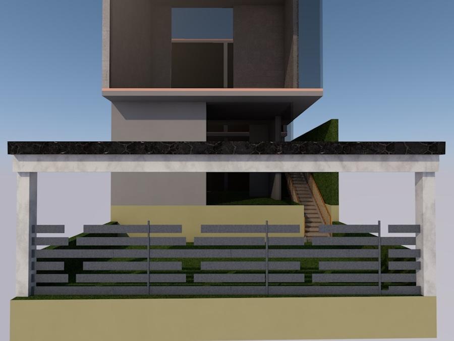 Diseño de fachada y acceso