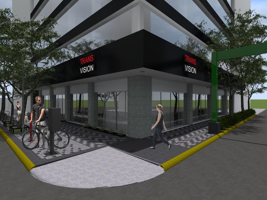 Foto Dise O Exteriores Tienda De Bicicletas De Arquitecto