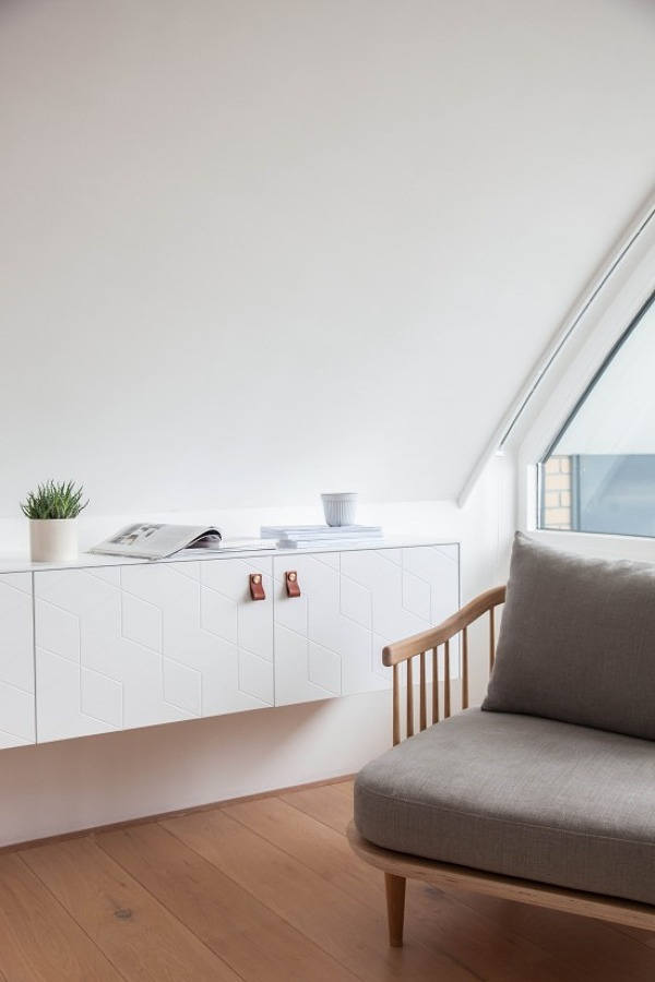 Muebles recámara estilo nórdico