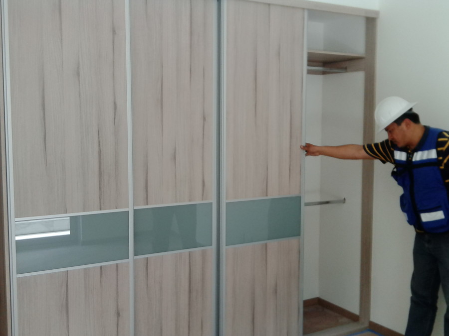 Foto dise o y colocaci n de closet s de m a arquitecto for Diseno zapateras para closet