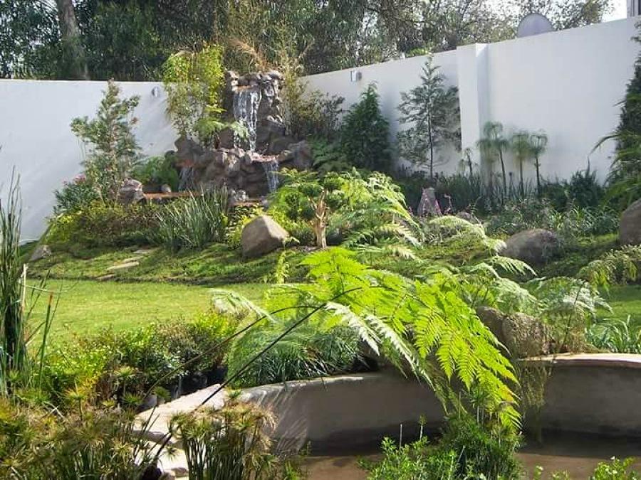 Diseños GREEN paradise solución verdes: Estanque y río de piedra natural