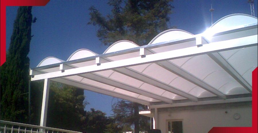 Foto domo arco ca on armado con policarbonato de - Precio del policarbonato ...